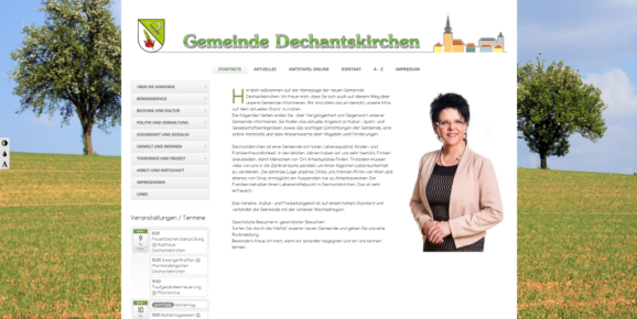 Website – Gemeinde Dechantskirchen